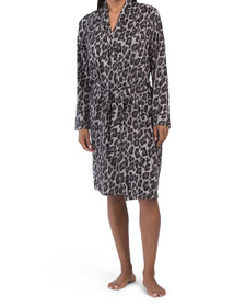 Ombre Leopard Robe