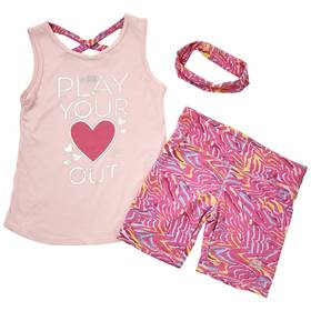 Girls (7-16) RBX Play Your Heart Out Tank & Bike S