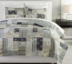 Pottery Barn Delaney Handcrafted Patchwork Cotton