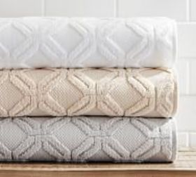 Pottery Barn Blakely Organic Sculpted Hydrocotton