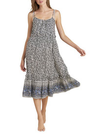 Veronica Beard Ayesha Floral Coverup Dress with Fl