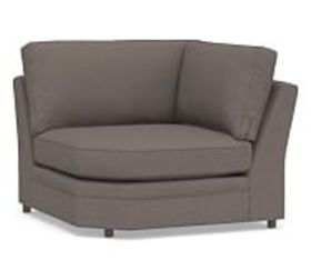 Pottery Barn Pearce Roll Arm Upholstered Sectional