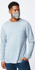 Threads 4 Thought Durable Long-Sleeve Pocket Crew