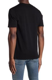 DKNY Painted Stripe Graphic Crew T-Shirt