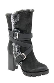 CHARLES BY CHARLES DAVID Gideon Faux Fur Bootie