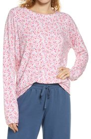 STRIPE AND STARE Floral Sweatshirt