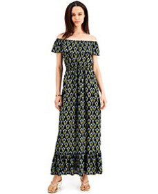 Off-The-Shoulder Maxi Dress, Created for Macy's