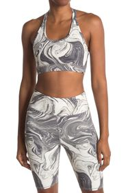 THREADS 4 THOUGHT Zelma Marble Sports Bra