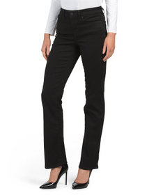 High Waisted Slimming Straight Jeans
