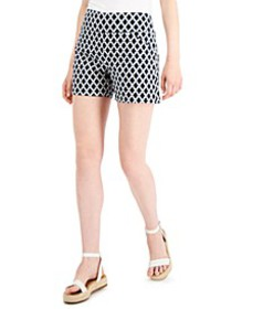 INC Printed Career Shorts, Created for Macy's