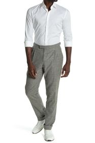 REISS Midland Check Trousers