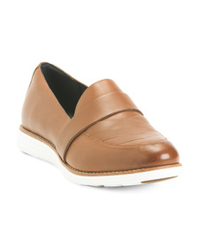 Leather Comfort Loafers