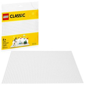 LEGO Classic White Baseplate 11010 Building Plate