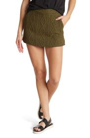 MOSCHINO Cable Knit Skort