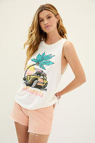Anthropologie California Muscle Graphic Tank