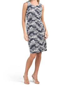 All Over Lace Cocktail Dress