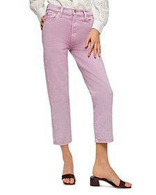 7 For All Mankind - High Waist Cropped Jeans
