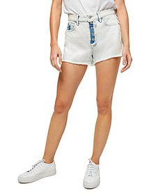 7 For All Mankind - High Waisted Jean Shorts in Oc