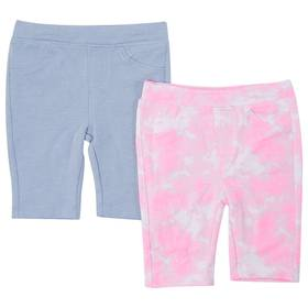 Toddler Girl Freestyle Revolution 2pk. Solid & Tie