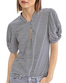 7 For All Mankind - Cotton Twisted Top