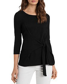 VINCE CAMUTO - Tie Front Knit Top