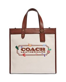 COACH - Garden Embroidered Field Tote