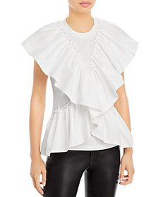 3.1 Phillip Lim - Butterfly Ruffled Top