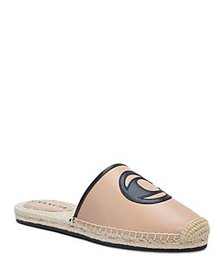 COACH - Women's Channing Logo Leather Espadrille S
