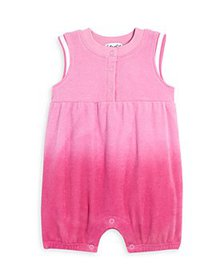 Splendid - Girls' Dip Dyed Terry Coverall - Baby