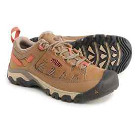 Keen Targhee Vent Hiking Shoes (For Women) in Sand