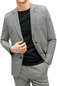 7 for all mankind Men's Houndstooth Suit Jacket