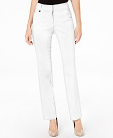 Curvy-Fit Straight-Leg Pants, Created for Macy's