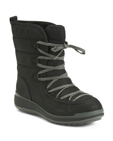 Leather Waterproof Storm Boots