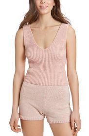 JUICY COUTURE CROPPED SWEATER UNDERPINNING