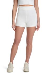 JUICY COUTURE RIBBED WAIST SWEATER SHORT