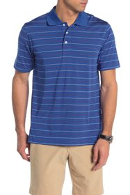 BROOKS BROTHERS Striped Knit Performance Polo