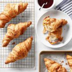 Galaxy Freezer to Oven Classic Croissants, Set of