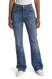 FREE PEOPLE French Girl Flared Jeans