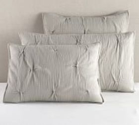 Pottery Barn Soft Cotton Handcrafted Quilted Sham