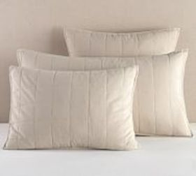 Pottery Barn Davenport Cotton Quilted Sham