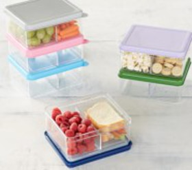 Pottery Barn Spencer Dual Compartment Food Storage