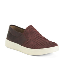 Comfort Leather Slip On Shoes