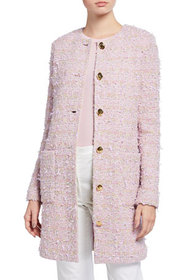 St. John Collection Tweed Knit Topper