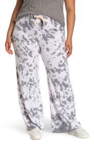 THEO AND SPENCE Tie-Dye French Terry Pajama Pants