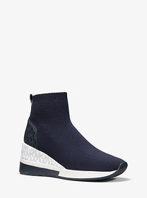 Michael Kors Skyler Stretch Knit and Two-Tone Logo
