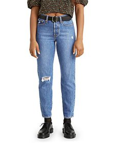 Levi's - Wedgie Ankle Jeans in Athens Hera
