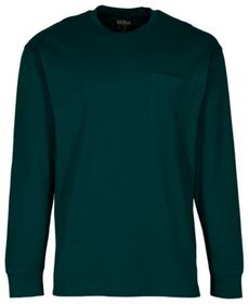 RedHead Crew-Neck Long-Sleeve Pocket T-Shirt for M