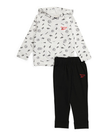 Big Boys 2pc Pullover Hoodie And Jogger Set