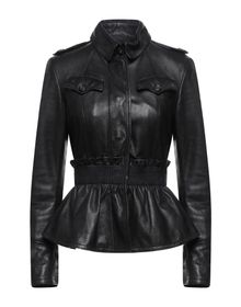 BURBERRY - Leather jacket