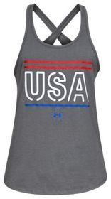 Under Armour Freedom USA Tank Top for Ladies